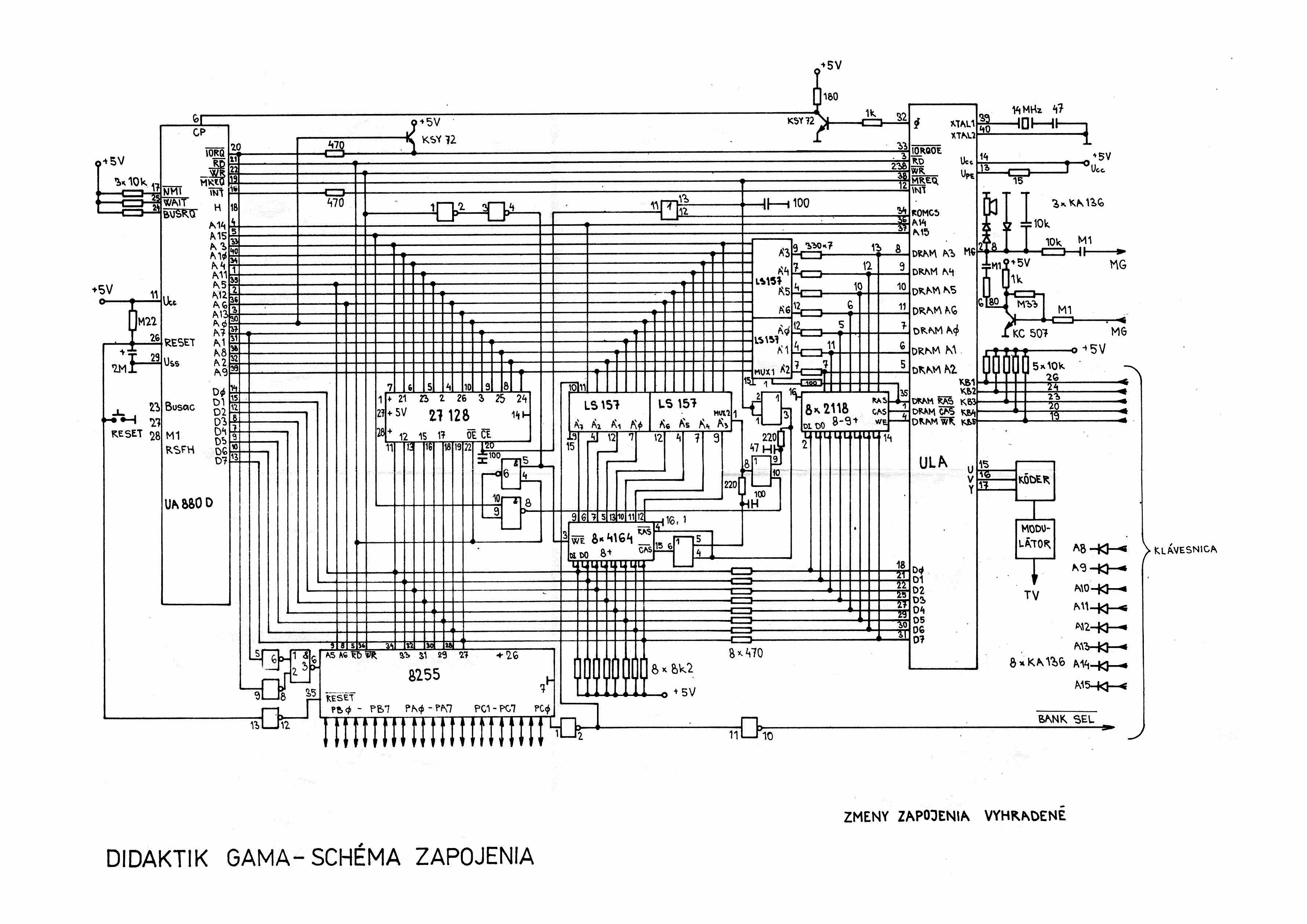 Hardware Z00ms Speccy Corner American Wiring Diagram 1972 Chevelle Gama 89 Didaktik Gama89